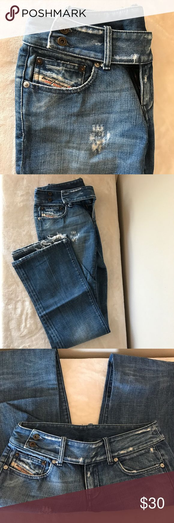 Diesel boot cut jeans Used diesel boot cut jeans. In perfect condition. No stains. Length-39 inches . Diesel Jeans Boot Cut