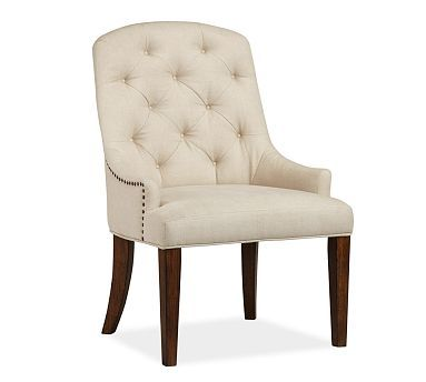 This Chair Would Also Suit The Desk Tufted Look