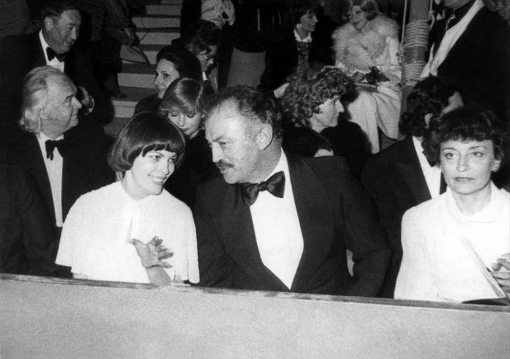 Mireille Mathieu et Jacques Medecin