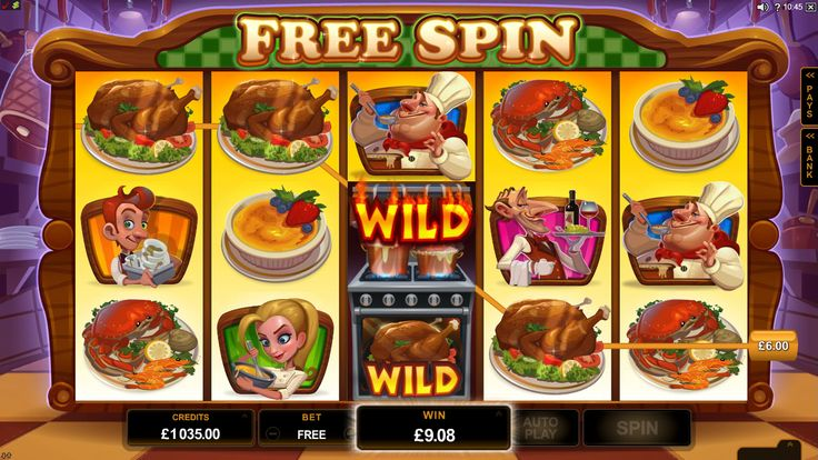 Big #Chef video slot supports 18 languages and has a treat for every single player! - http://www.royalvegascasino.com/