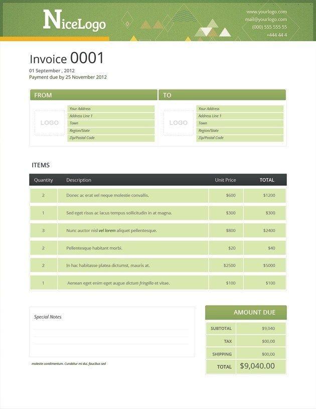 Invoice Format 461 Invoice Template Invoice Design Template Invoice Design