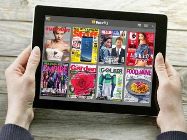 約2200誌が読み放題デジタル雑誌の定期購読サービスReadly