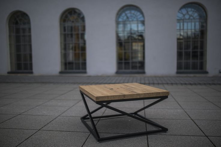 #Industrial#Coffee#Table#solid#oak#wood#table#modern#table#unique#