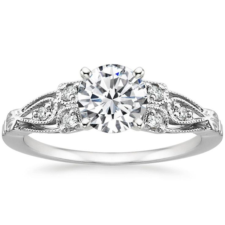 A truly remarkable heirloom design engagement ring