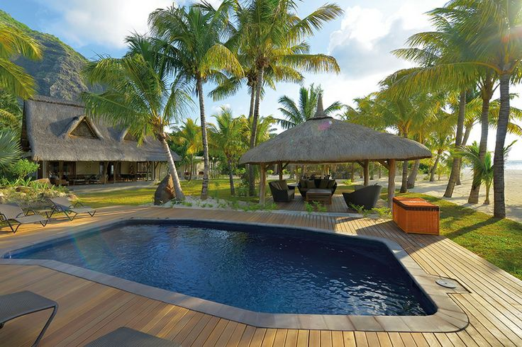 Mauritius Family villa with pool, you can't beat the Dinarobin Hotel Golf & Spa villas.