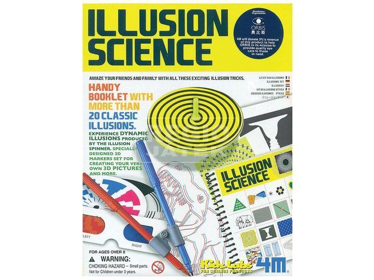 4M illúziós tudomány készlet