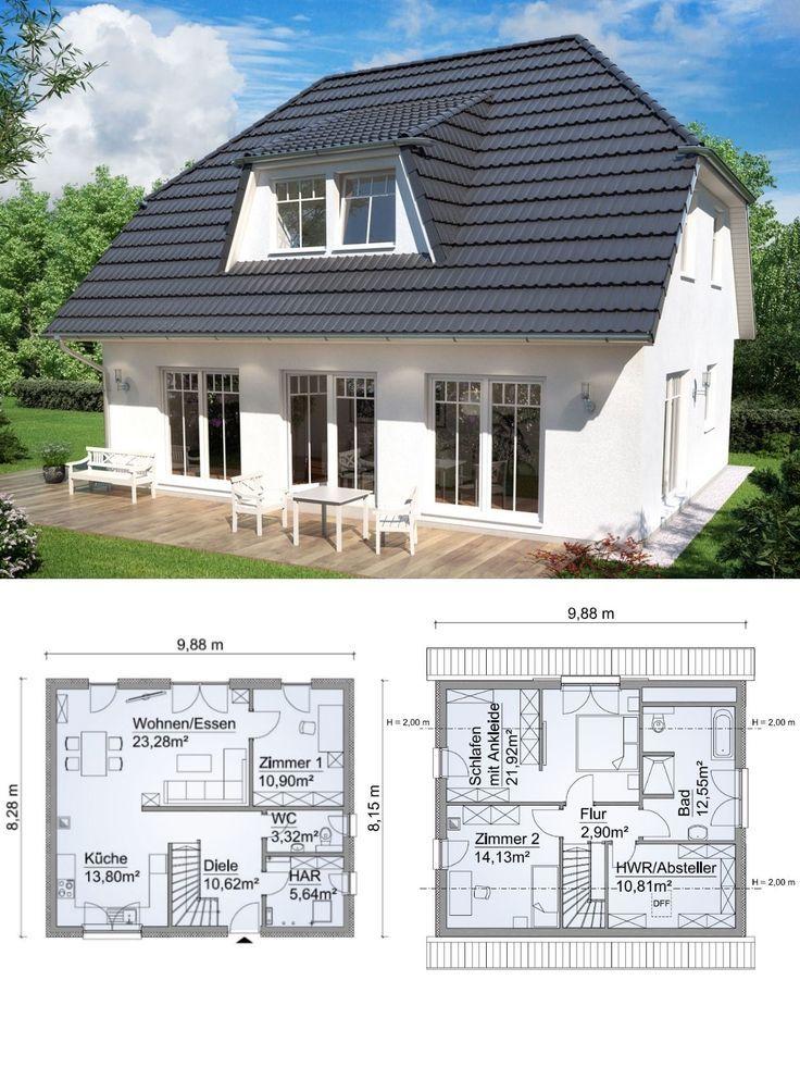 Einfamilienhaus Im Landhausstil Grundriss Mit