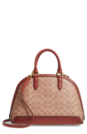 531510c0f6 Great for COACH Quinn Coated Canvas Dome Satchel Women s Fashion Handbags.    375  topbrandsclothing from top store