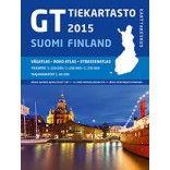 Finlande : carte de randonnée, atlas, cartes routières et touristiques