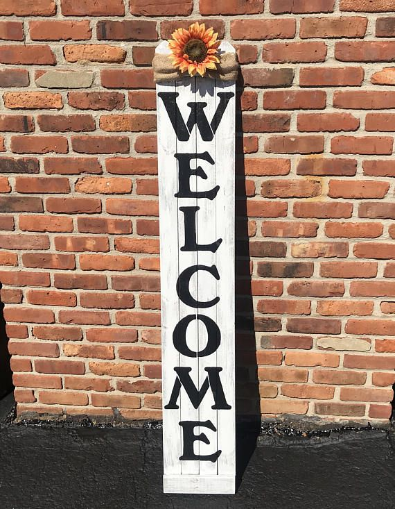 Welcome signs Rustic welcome signs Outdoor welcome sign ...