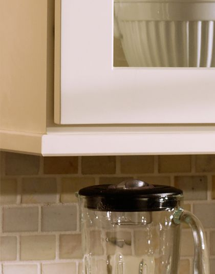 Under Cabinet Molding Kitchen Cabinets | Create A One Of A Kind Showpiece