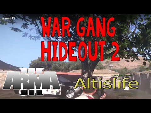 ArmA 3 Altislife GamePlay #13 : สงคราม Gang Hideout 2 - YouTube