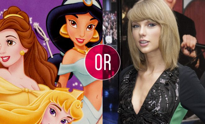 Who Sang The Lyric: Taylor Swift Or A Disney Princess ...