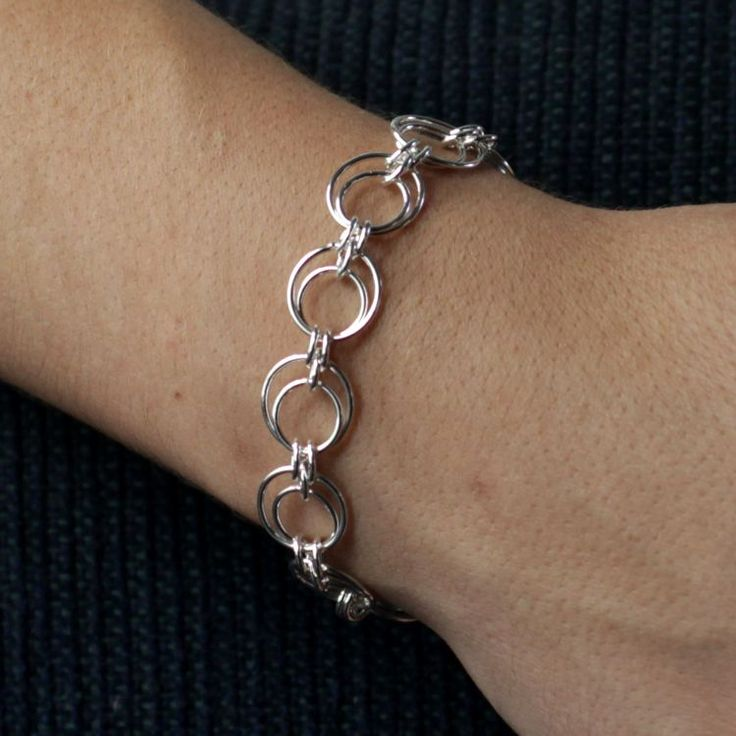 Buy our Australian made Sterling Silver Bracelet - Amalie online. Explore our range of custom made chain jewellery, rings, pendants, earrings and charms.