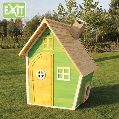 Leikkimökki on jokaisen lapsen unelma! Tutustu Exit leikkimökki valikoimaan!