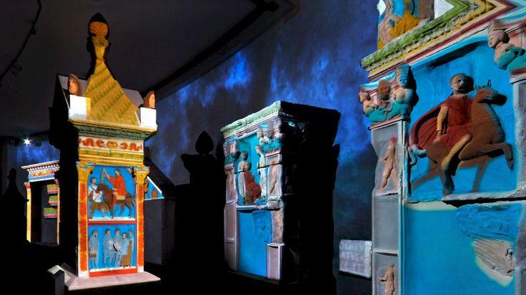 IM REICH DER SCHATTEN, RHEINISCHES LANDESMUSEUM | TRIER (DE) | 2010 Begehbares Raumtheater Tamschick