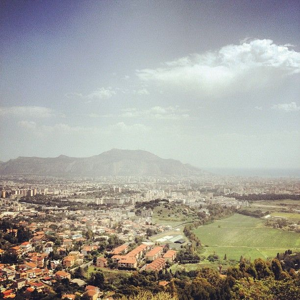 View of Palermo from Baida - Sicily
