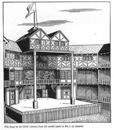 One of the stages where the main parts of the play take place. Audience that stood around the stage can participate in the play as well.