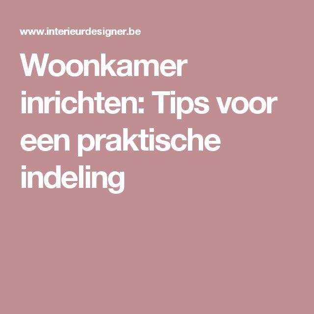 Meer dan 1000 ideeën over Woonkamer Indeling op Pinterest - Huiskamer ...
