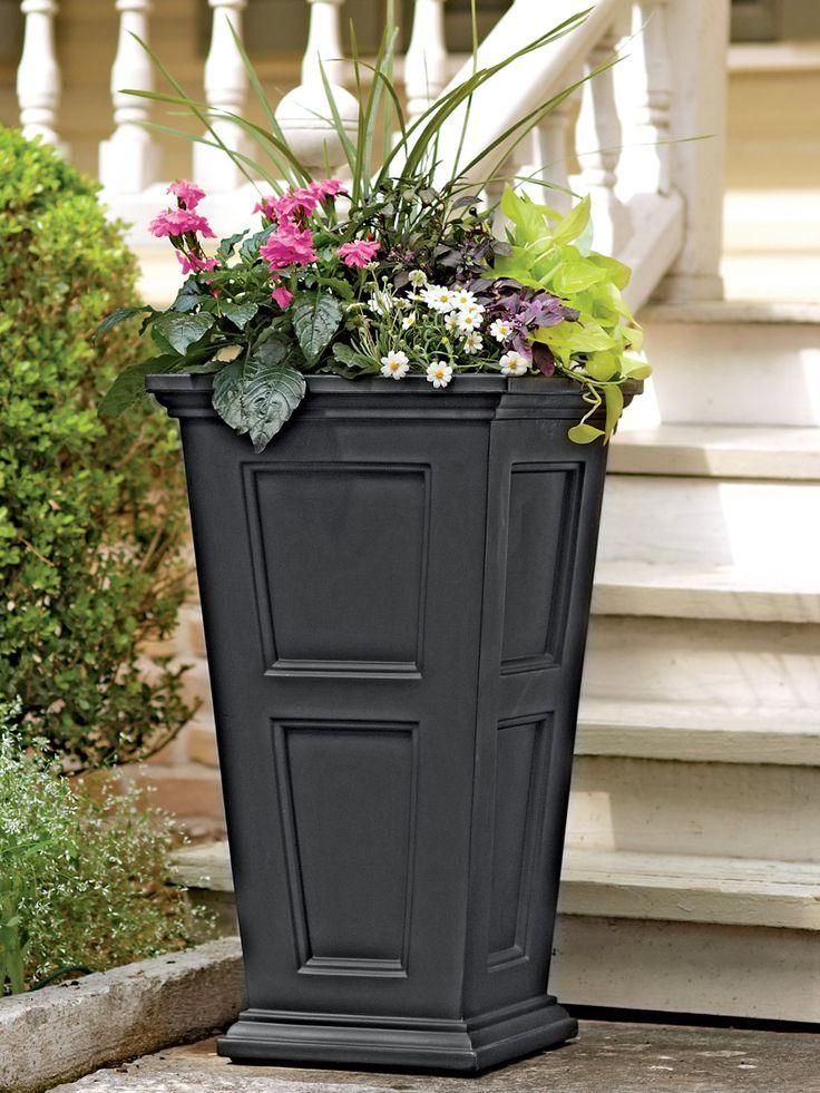 часть цветы в уличных вазонах идеи фото мужчины