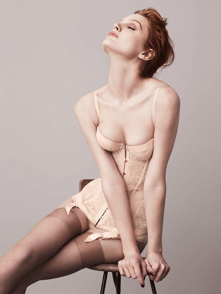 Classic lingerie, perfect for your wedding day! #weddingbelles #lingerie #boudoir Shop: Agent Provocateur