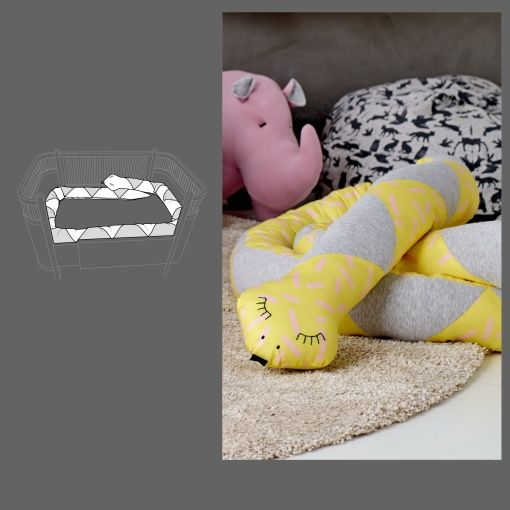 Bed snake - Stoff & Stil - DIY pattern for DIY