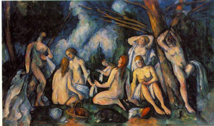CezzannePaul Cézanne, Paul Cezanne, Large Bathers, Art, Doces Paul, Grand Baigneus, Painting, The Great, Barns Foundation