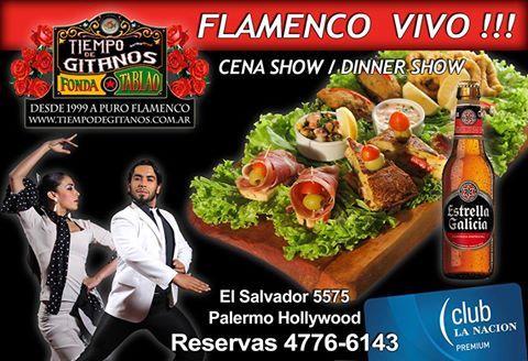 Este jueves 27 veni de Tapeo y Flamenco - Reservas 4776-6143