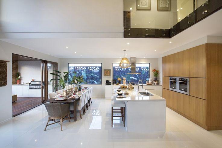 House Design: Sandringham - Porter Davis Homes void from kitchen