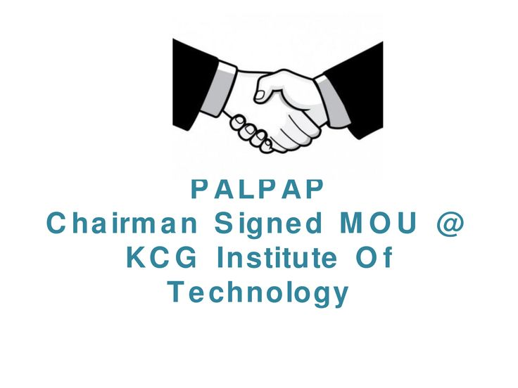 KCG provides additional benefits to their students to shaking hands with PALPAP ERP.