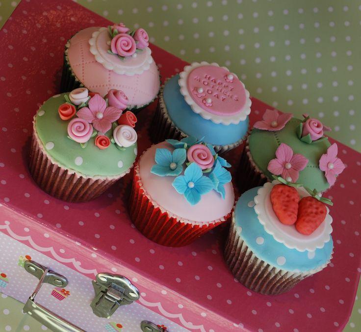 Cath Kidston style cupcakes, £45.00