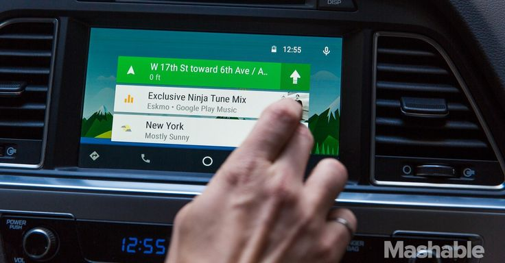 Android Auto puts Google Maps where they belong: Right in your dash