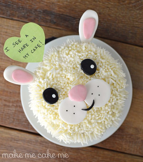 1000 Images About Animal Bunny Cakes On Pinterest My