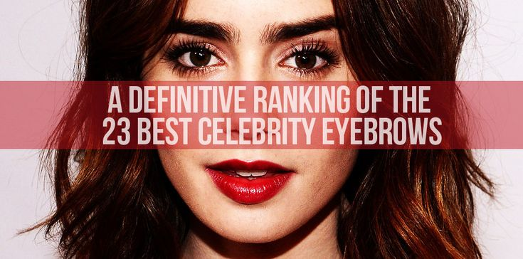 Celebrity eyebrows - many styles