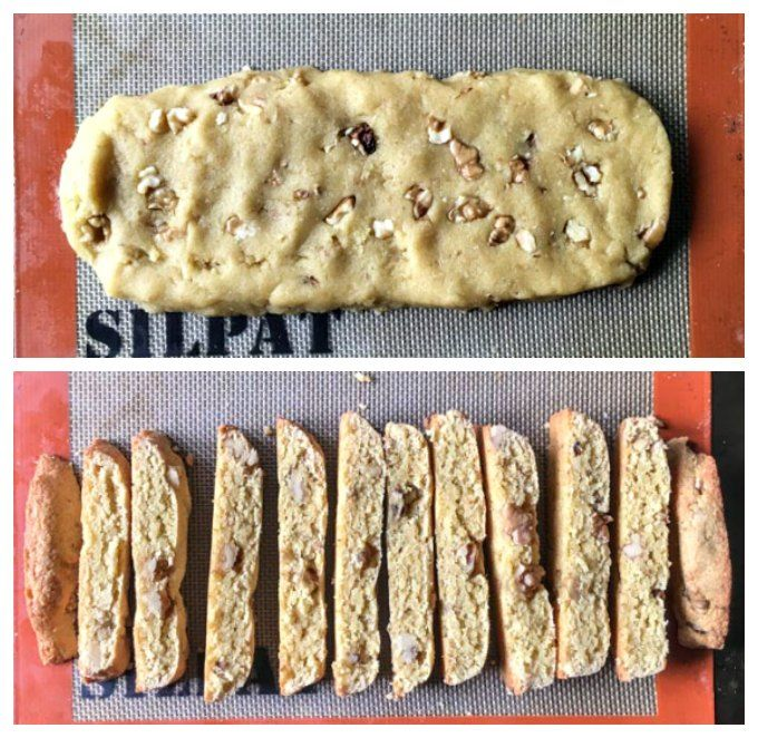 Gluten Free Maple Walnut Biscotti – Dan330