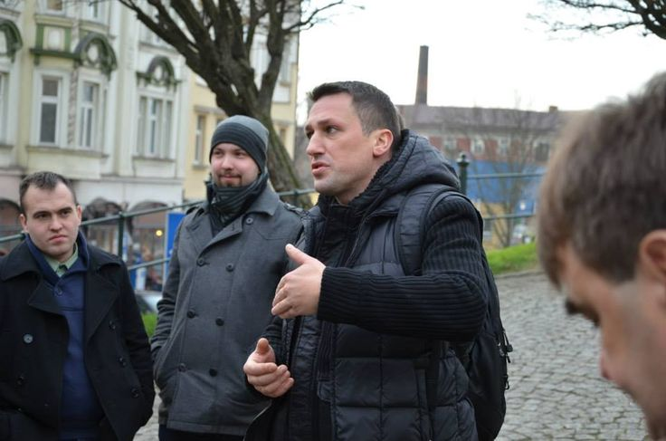 Dr Miłosz Skrzypek, organizator wyjazdu