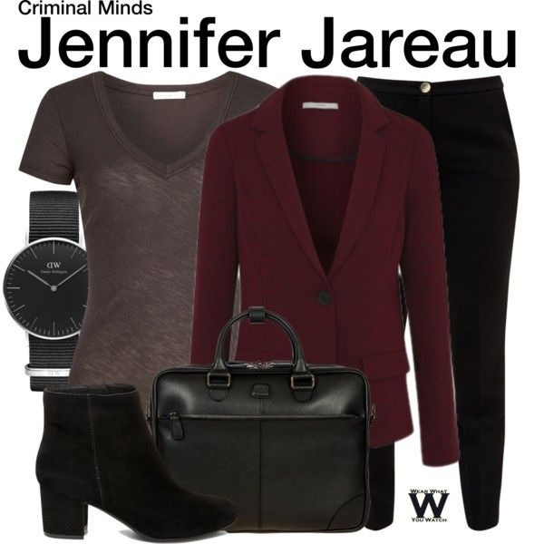 Inspired by AJ Cook as Jennifer Jareau on Criminal Minds