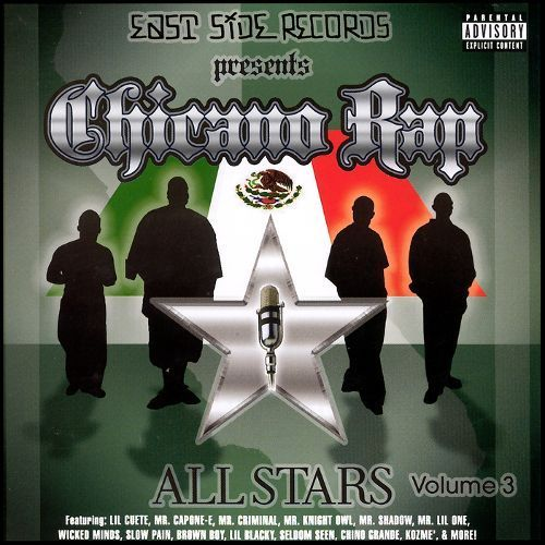Chicano Rap Allstars, Vol. 3 [CD] [PA]