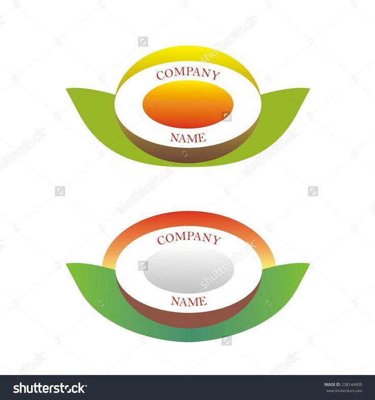 vector #tropical #fruits #logo