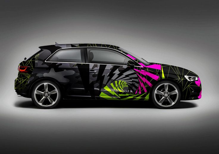 Audi A3 – Wrap design