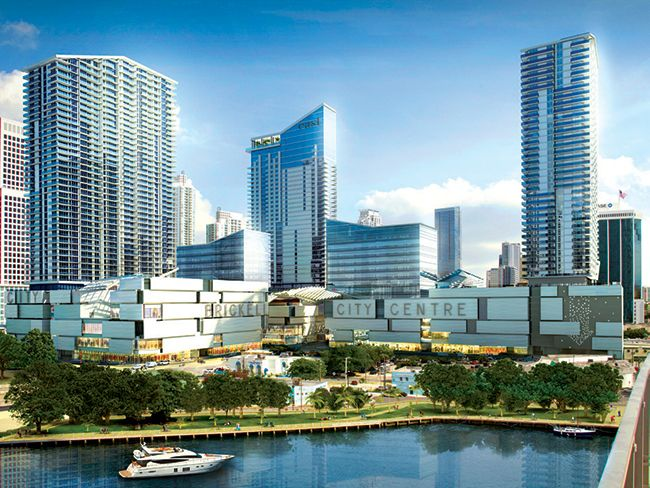Brickell City Centre will combine luxury living with high-end retail, offices, and a hotel.