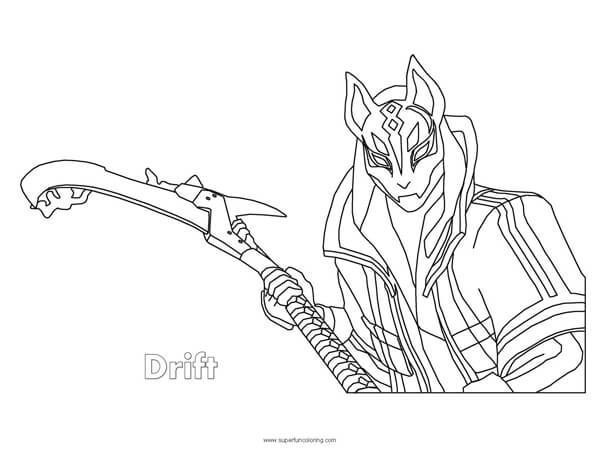 Fortnite Drift Coloring Page Coloring Squared Coloring Drift Fortnite Page Squared Coloring Pages Coloring Sheets Transformers Coloring Pages