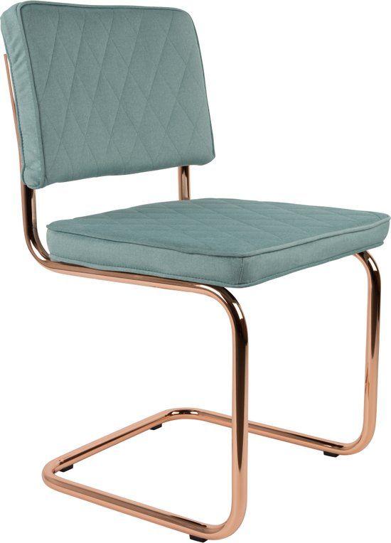 Zuiver - Chair Diamond Minty Green - Stoel - Mint Groen