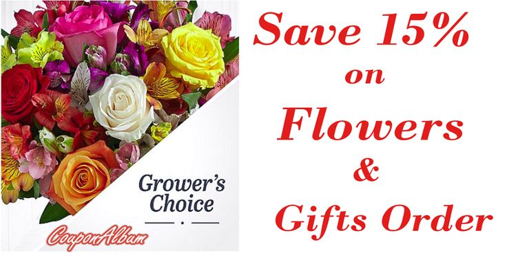 Save 15% on Pro flowers coupons for birthday flowers and gifts order. The latest flower coupons codes at couponalbum.