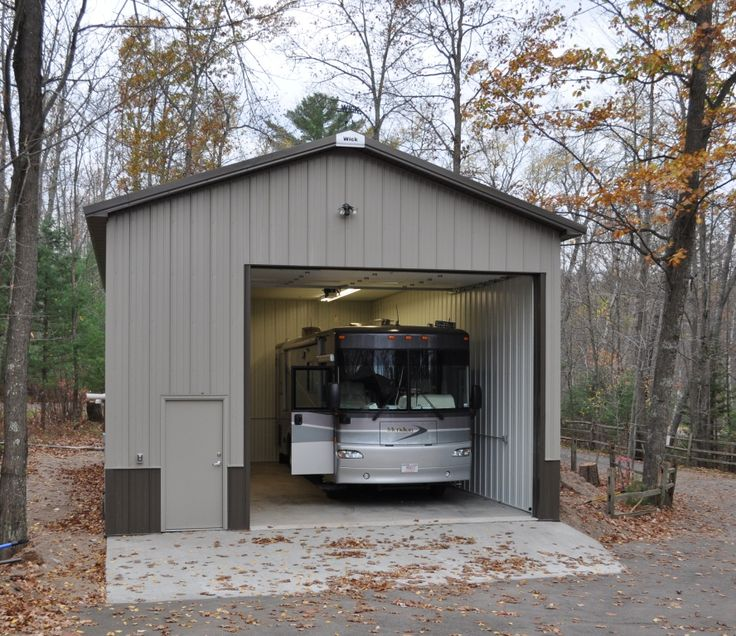 The 25 best ideas about motor home storage on pinterest for Rv barns
