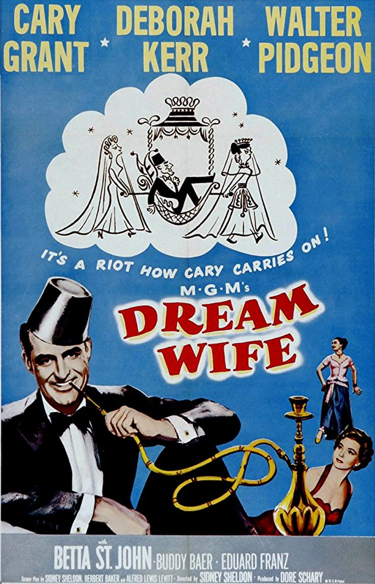 Dream Wife (1953) - Cary Grant, Deborah Kerr, Walter Pidgeon, Betta St. John