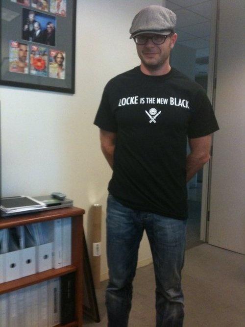 Damon Lindelof - Locke is the new black
