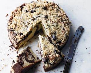 Marbled chocolate crumble cake recipe  Rachel Allen