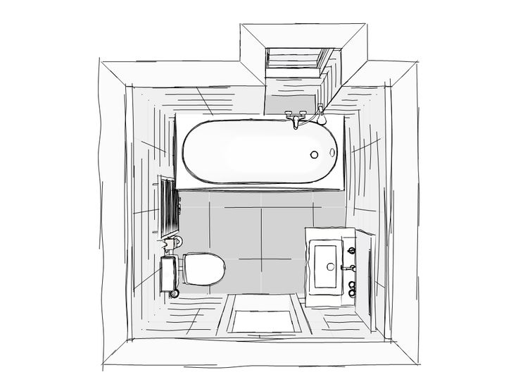 Mijn nieuwe badkamer - in 3D