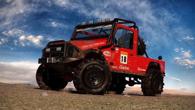 UMM Alter Turbo 4X4 - Desert shot 3D by konceptsketcher, via Flickr